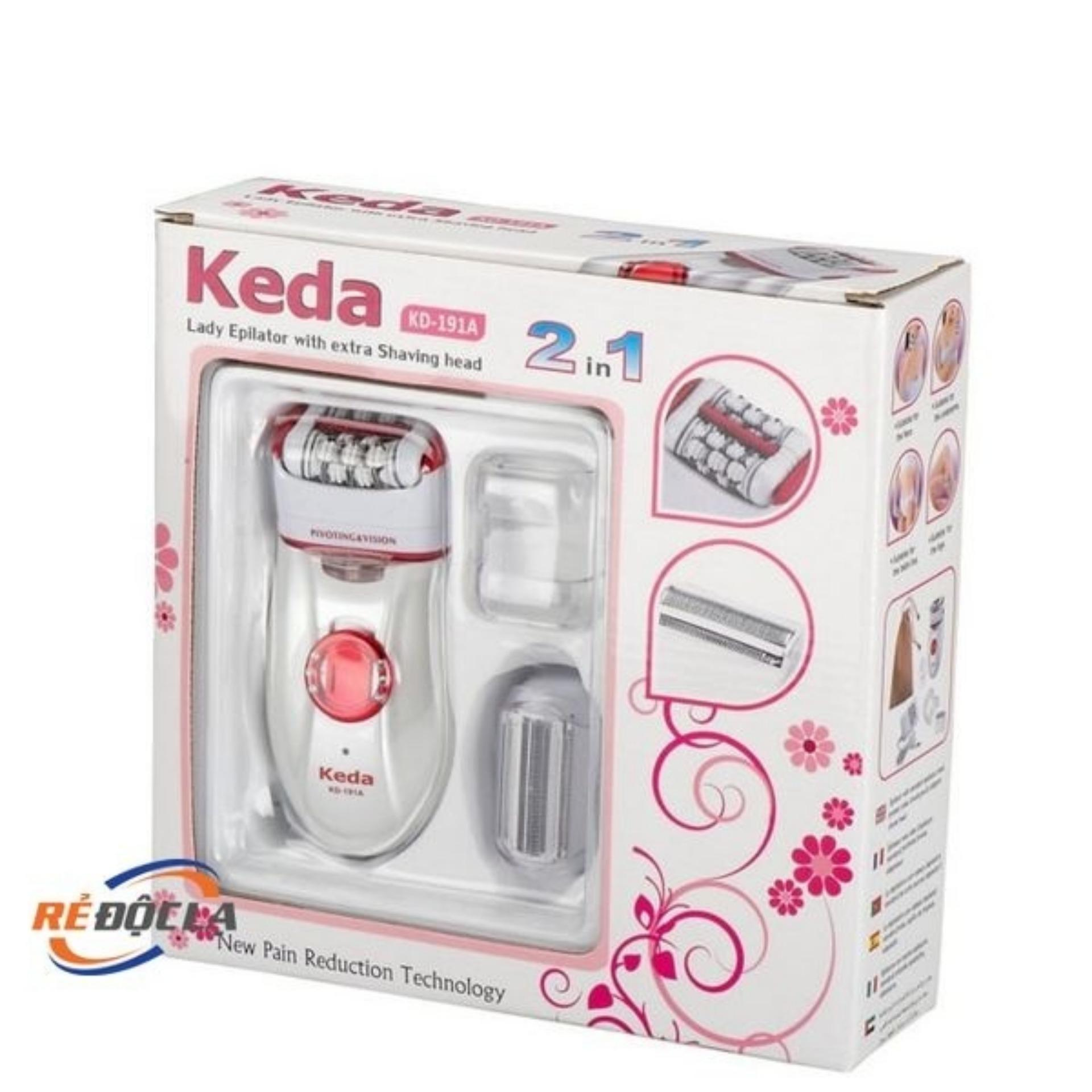 Hình ảnh Máy nhổ lông, cạo lông Keda KD-191A- Better Shop