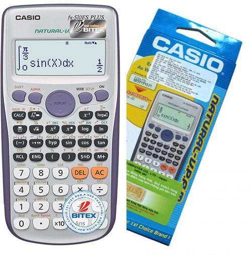 Mua Máy Tính Casio FX570 ES Plus - Bảo Hành 2 Năm (Giá tốt)