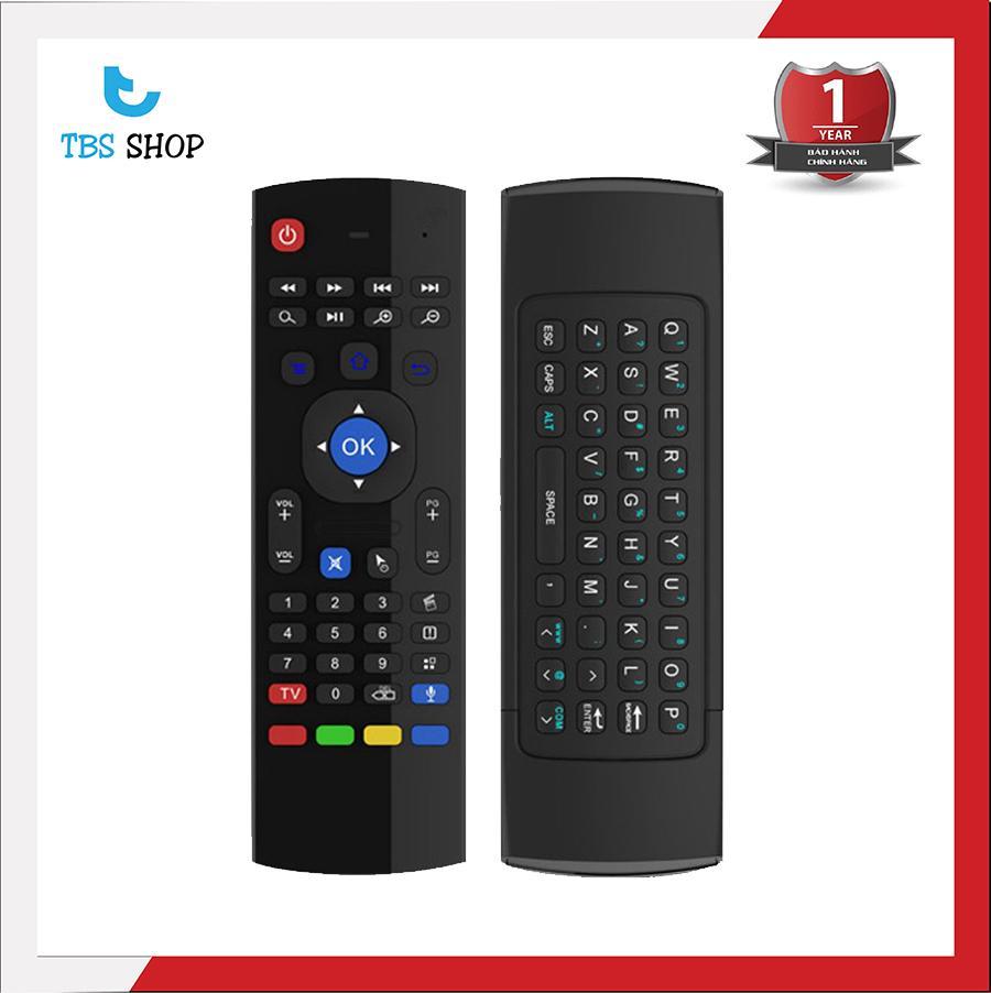 Hình ảnh Chuột Bay Kiêm Bàn Phím Mx3 cho Smart Tv, Android Tv Box