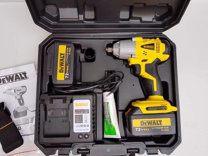 Máy Vặn Ốc Dùng Pin 72V Siêu Khỏe Dewalt 2 pin chất lượng nhập khẩu