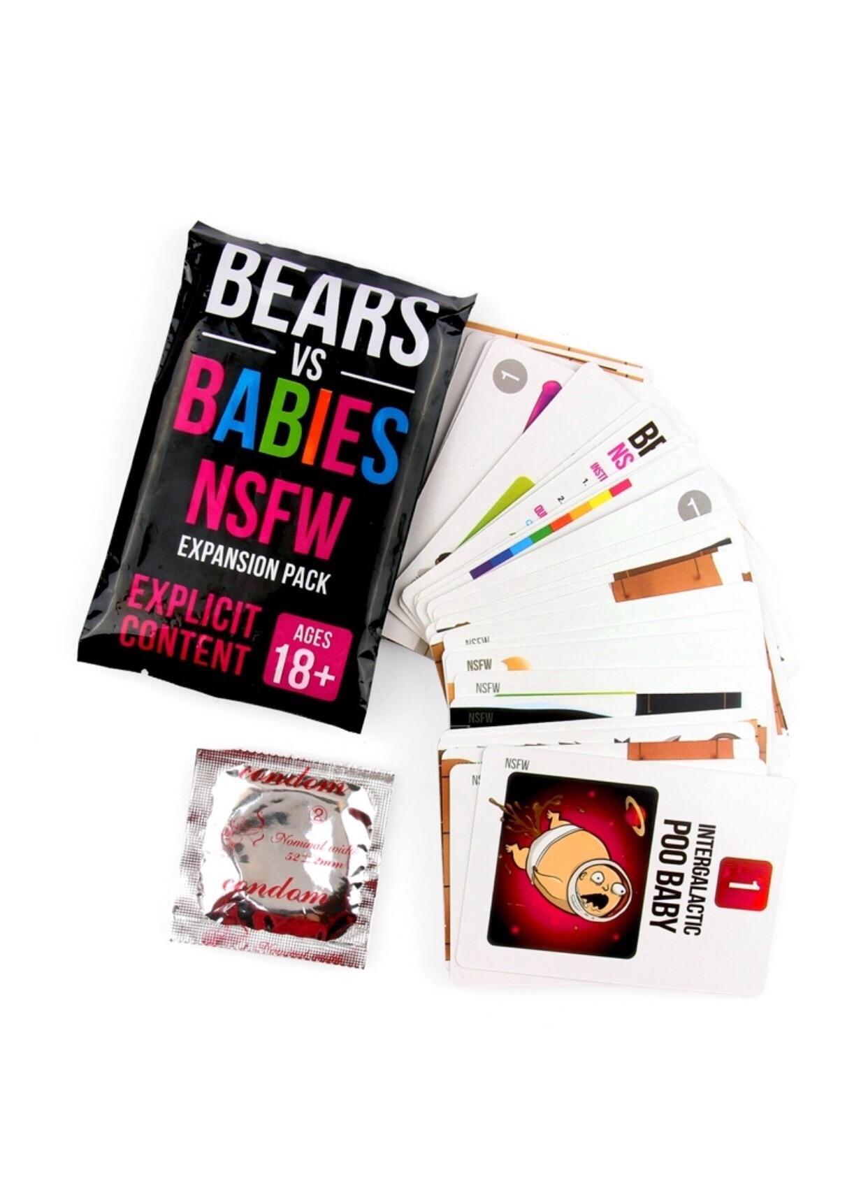 Hình ảnh Game Bears Vs Babies Expansion (18+)