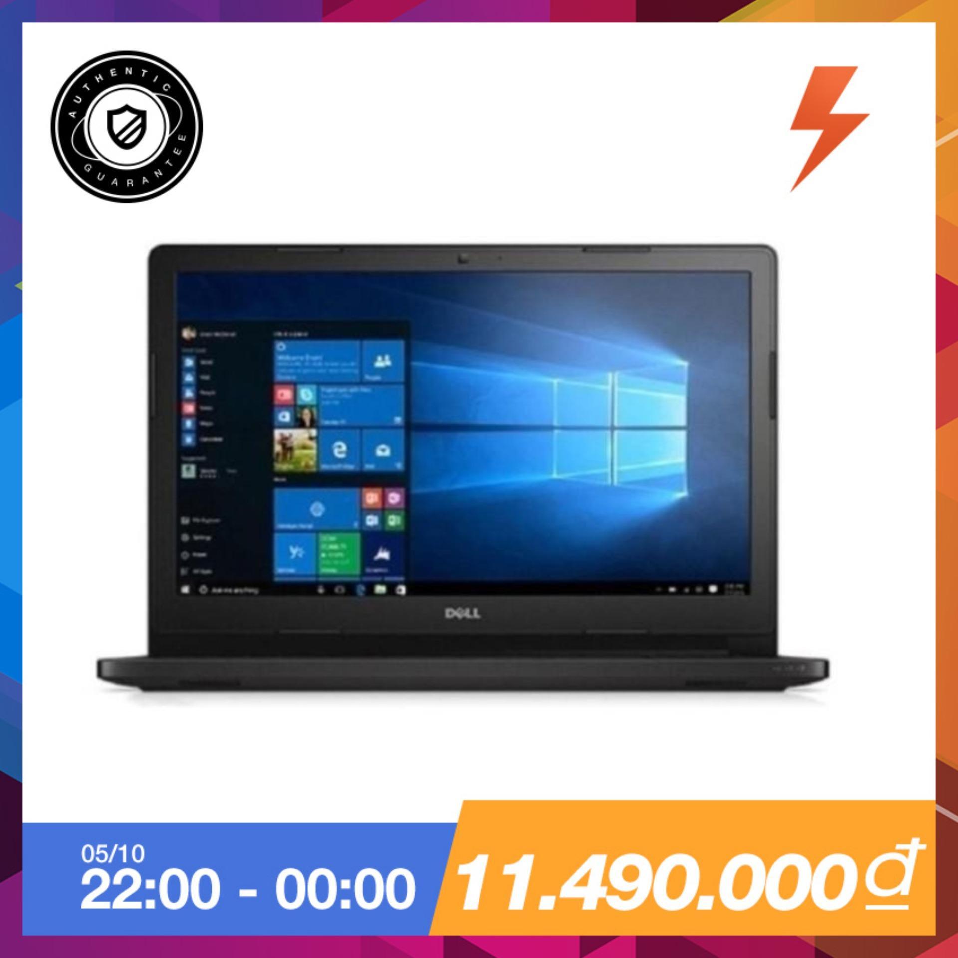 Chiết Khấu Laptop Dell Vostro 3568 Xf6C61 Core I5 7200U Ram 4Gb 1Tb Inch Dvdrw Đen Hang Phan Phối Chinh Thức