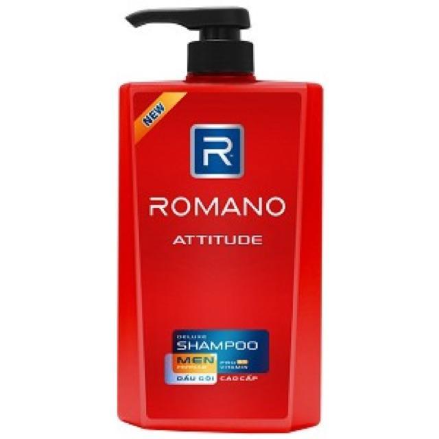 Dầu gội cao cấp Cho Nam Romano Attitude (650g) nhập khẩu