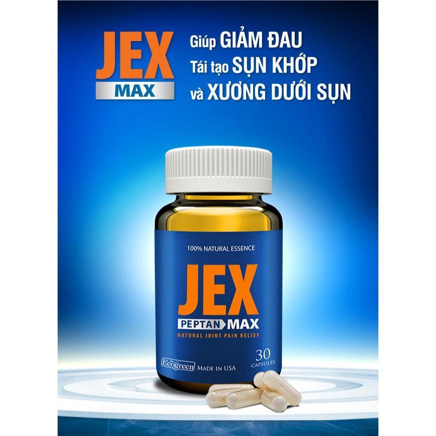 (Chính hãng) JEXMAX - Tái tạo sụn khớp nhập khẩu