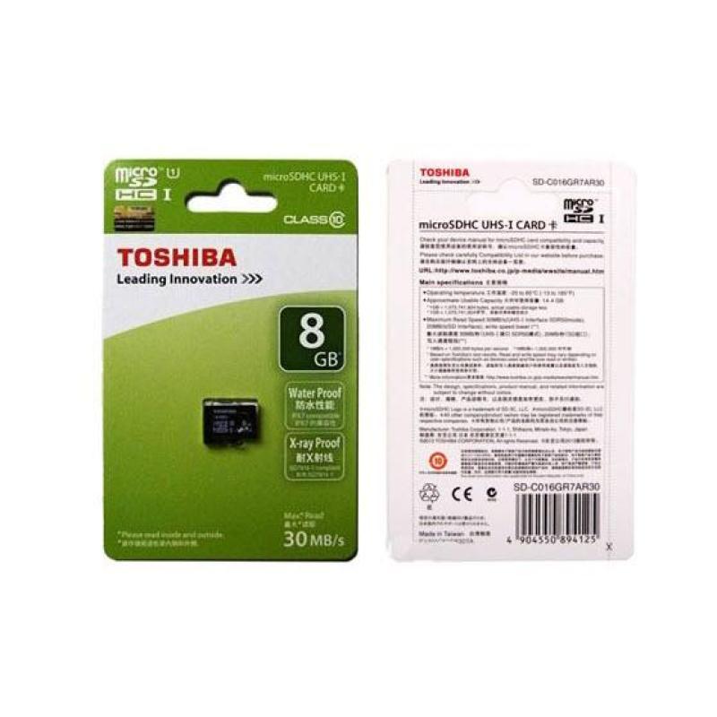 Thẻ Nhớ SD8G TOSHIBA NHỎ LOẠI TỐT - HÀNG NHẬP KHẨU