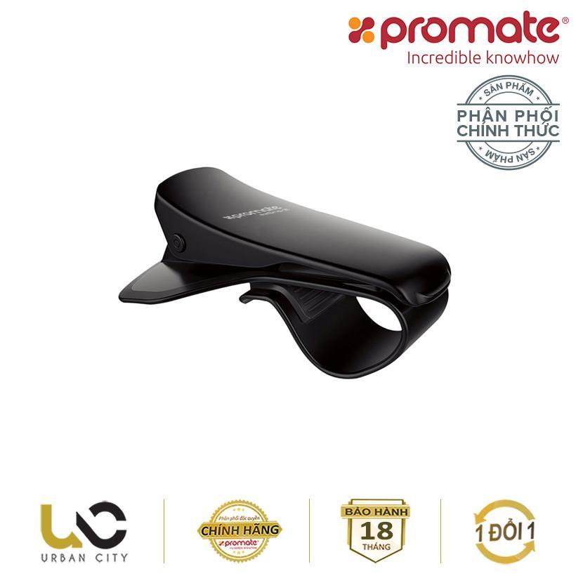 Hình ảnh Kẹp giữ điện thoại trên xe hơi Promate ezGrip-2 (Đen) - Hàng Chính Hãng