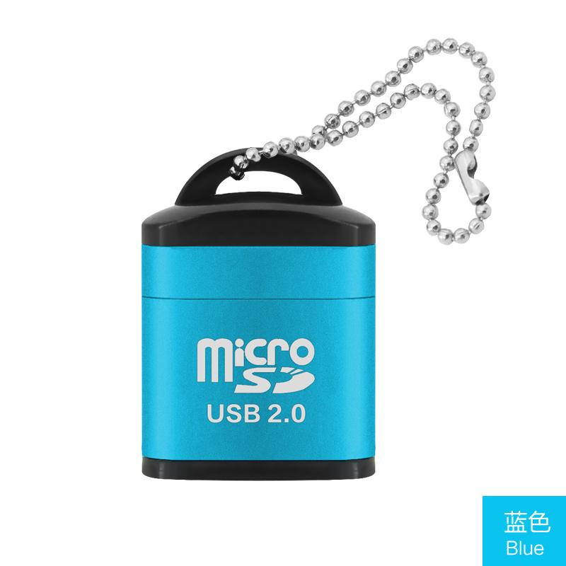 PESTON Mini Micro SD Card Mobile Phone High-Speed TF Memory Card Reader Computer Vehicle-mounted Speakers Card Reader