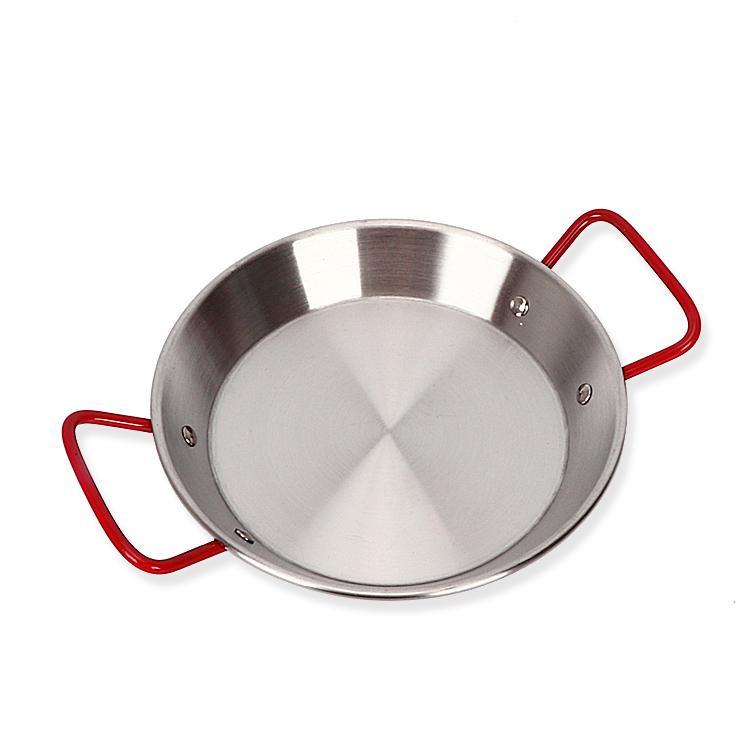 Lebih tebal baja anti karat wajan panggang panci penggorengan panci Teflon tidak lengket Spanyol Makanan Hasil Laut penanak nasi udang karang Khusus Piring