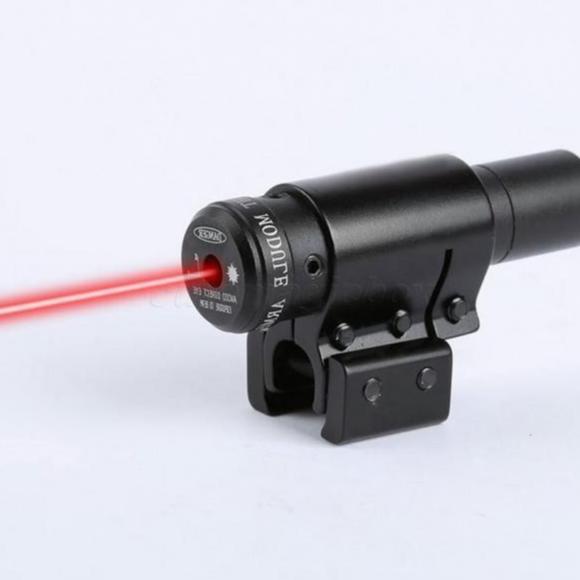 Hình ảnh Laze scope kẹp ray