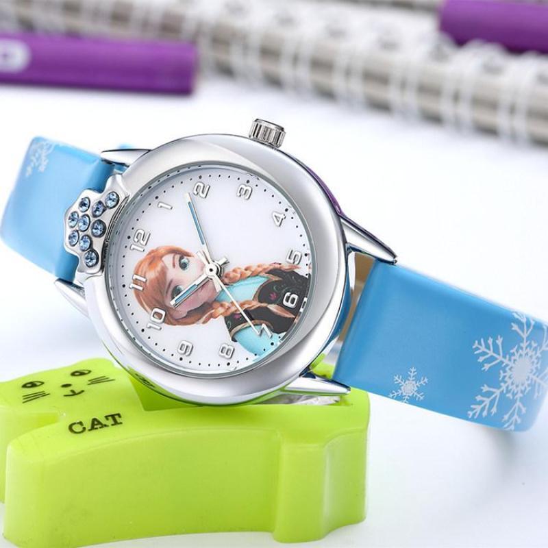 Đồng hồ trẻ em công chúa anna W16-X màu xanh giá tốt bán chạy