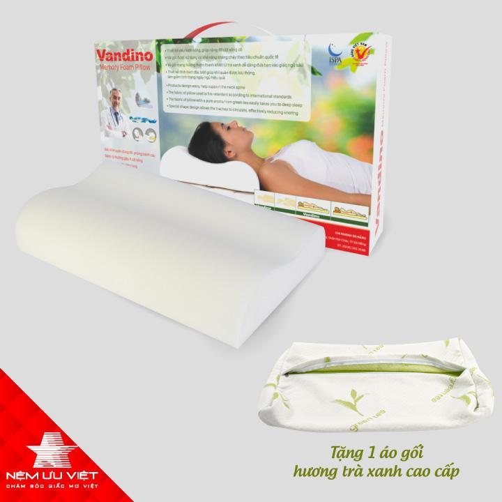 Mã Khuyến Mại Gối Vandino Memory Foam Pillow Ưu Việt 30Cm X 50Cm X 7 9 Cm Nệm Ưu Việt Mới Nhất