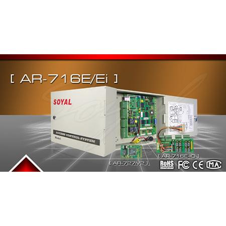 SOYAL AR-716Ei Trung tâm kiểm soát ra vào 16 cửa dùng thẻ từ