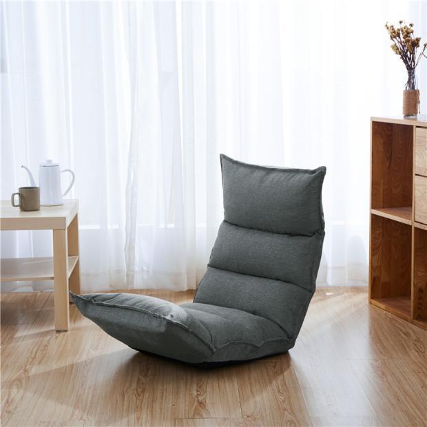 Ghế Tựa Lưng Tatami Kumo Màu Xám|Ghế Bệt|Ghế Thư Giãn|Ghế Tựa Lưng|Ghế Tựa Lưng Nhà Xuân