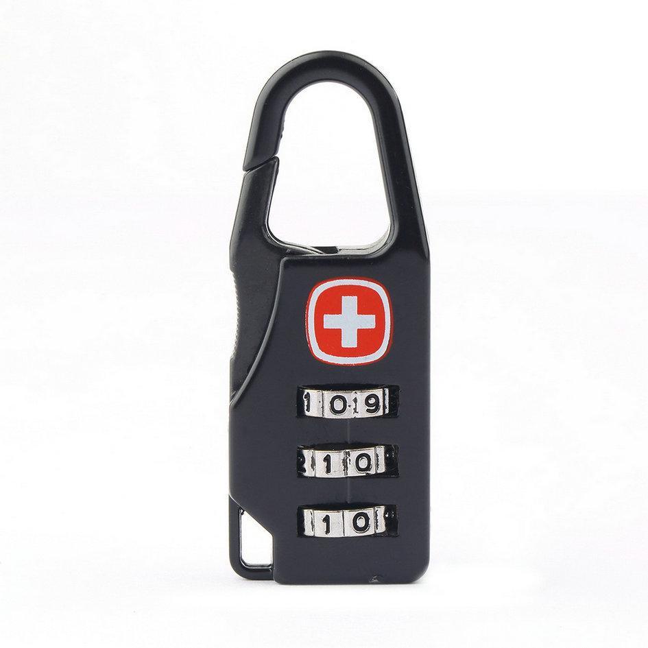 Hình ảnh Bộ 2 Ổ khóa mã số mini khóa vali cao cấp