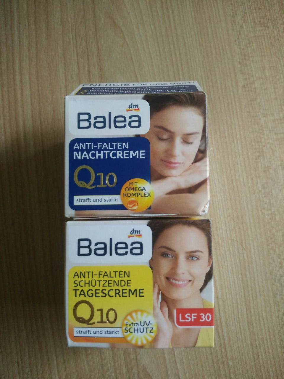 Hình ảnh Bộ kem dưỡng, chống nhăn và lão hoá ngày và đêm Balea Q10 Anti-Falten SPF30