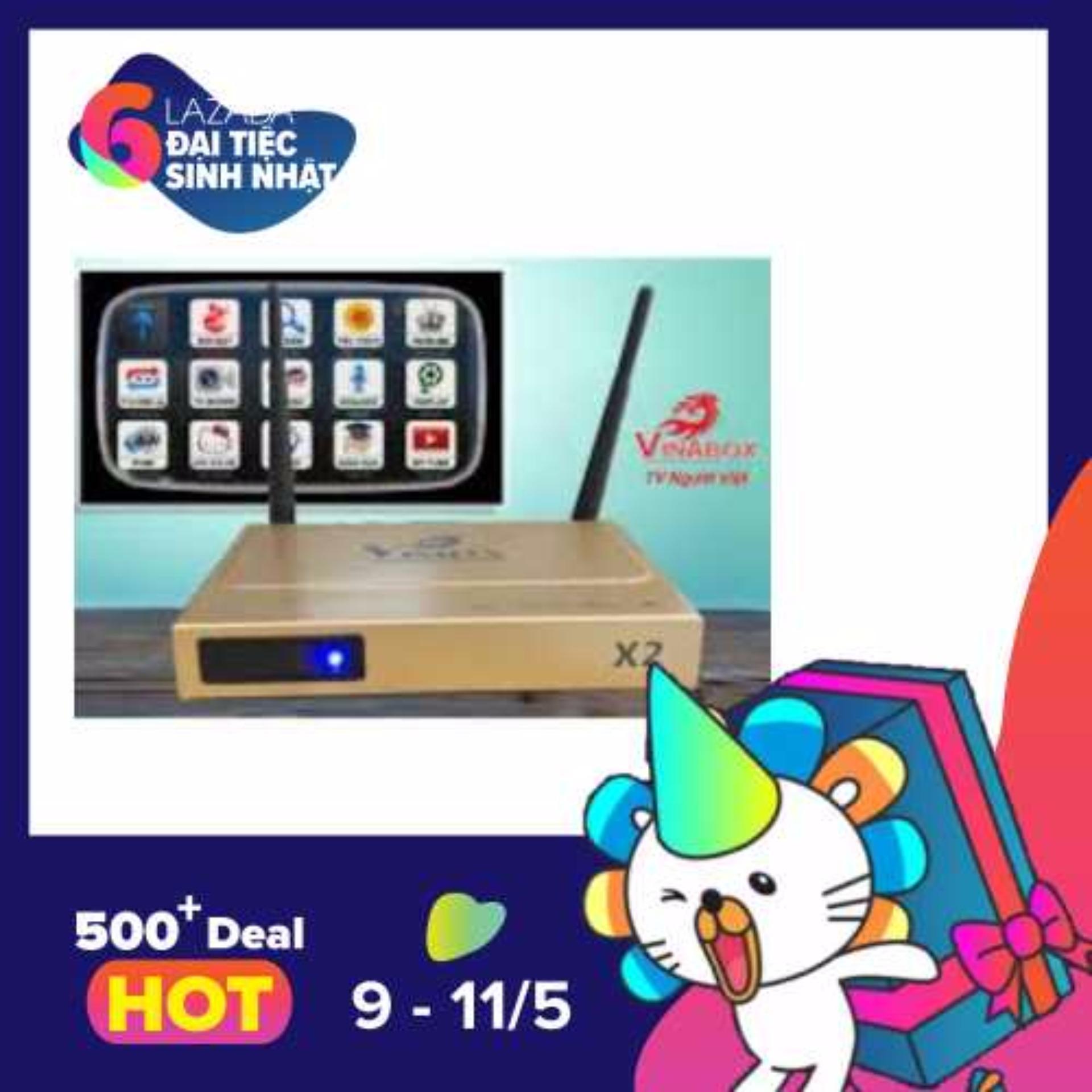Bán Android Tv Box Vinabox X2 Hang Cong Ty Loi Tứ Ram 1G Nhập Khẩu