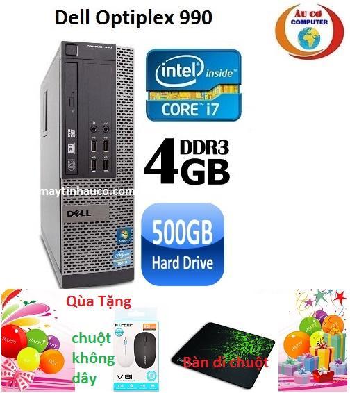 Bán May Tinh Dell Optiplex 990 Core I7 Ram 4Gb Hdd 500Gb Tặng Chuột Khong Day Chinh Hang Ban Di Chuột Bảo Hanh 24 Thang Hang Nhập Khẩu Xam Trong Hà Nội