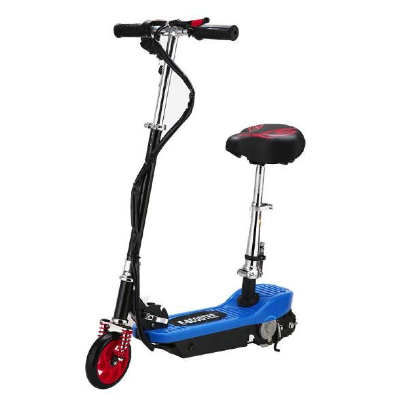Phân phối Xe scooter điện tốc độ tối đa 15km/h, tải trọng 75kg (Xanh dương)