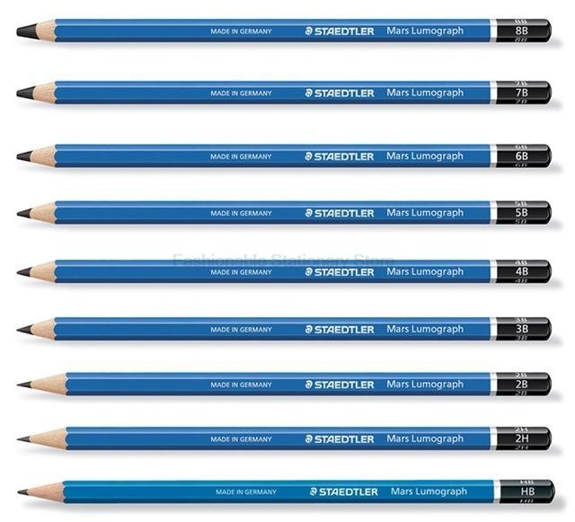 Mua Hộp 12 cây bút chì học sinh cao cấp Staedtler Mars Lummograph Art-No. 100 -7B (Nhập khẩu Đức)
