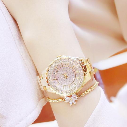 Hình ảnh Đồng hồ nữ Bs Bee sister (màu vàng)