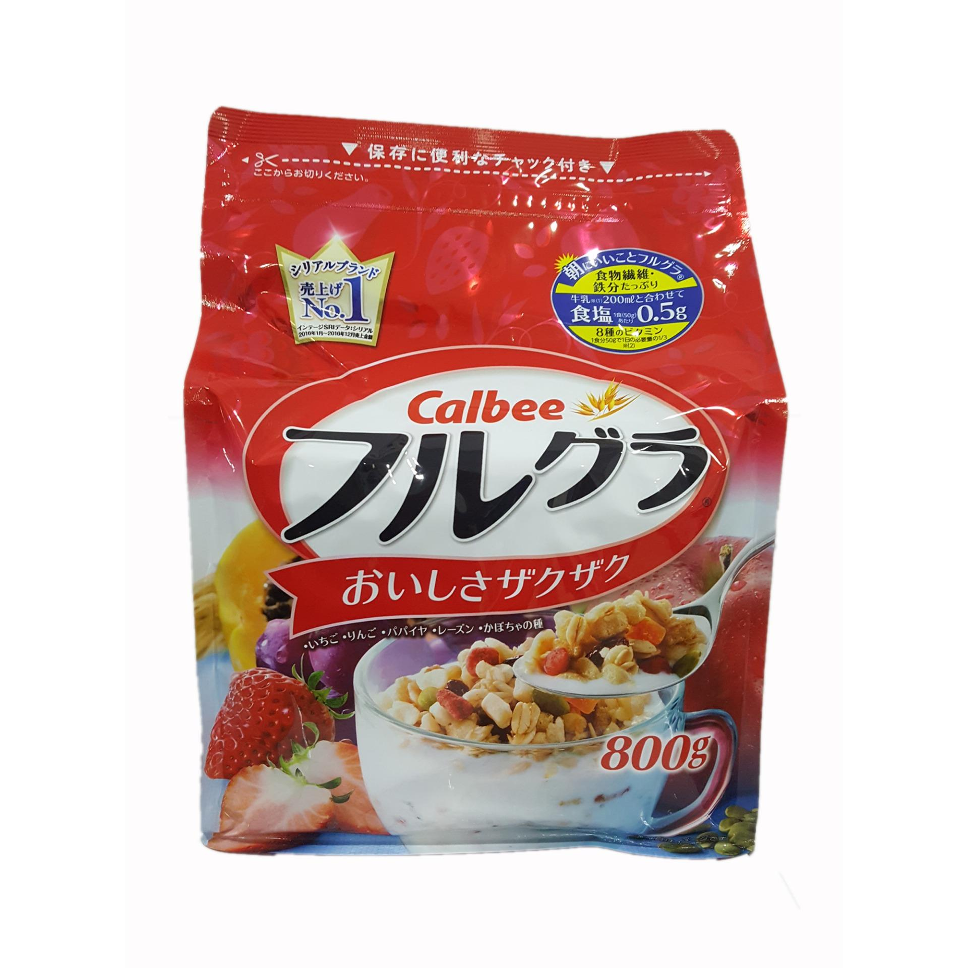 Ngũ cốc Calbee Nhật Bản 800g date T10 2018