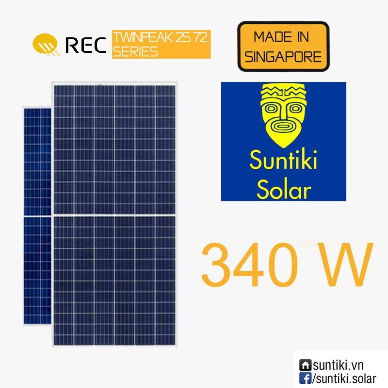 Tấm pin năng lượng mặt trời REC 340W 72 cell (Solar Panels) 340W (26-50 tấm)
