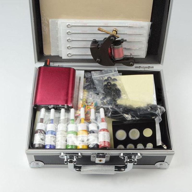 Bộ vali máy xăm trang điểm