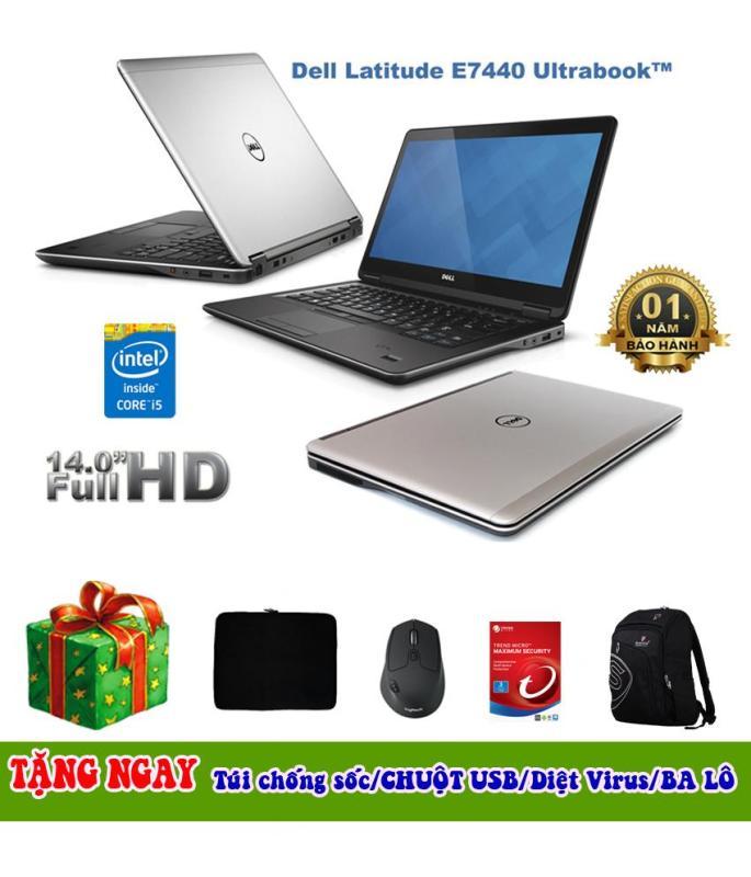 Mua Laptop Dell 7440 i5-4300U 14inch, 4GB, 500GB (Tặng Balo, túi chống sốc, đế tản nhiệt, tai nghe) - Hàng Nhập Khẩu