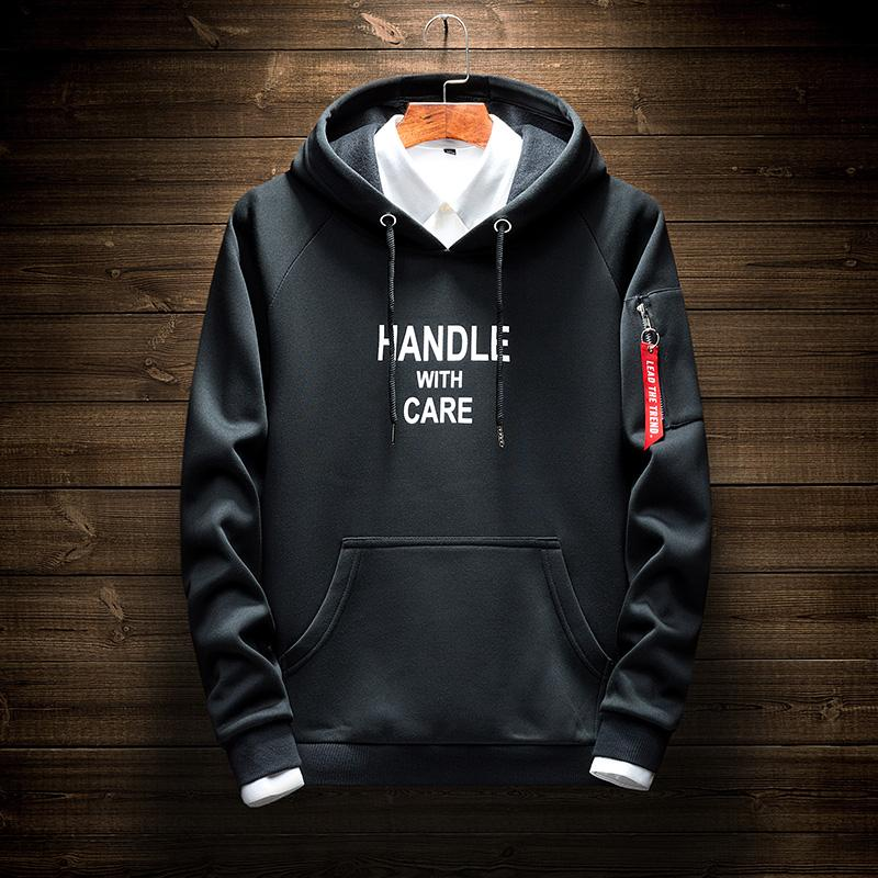 e29259eaa5e5e Sweater Male Hooded New Style Boy s Spring And Autumn INS Ultra-Fire  Students Korean Style