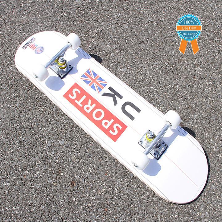 Hình ảnh Ván trượt skateboard thể thao gỗ phong ép 7 lớp mặt nhám