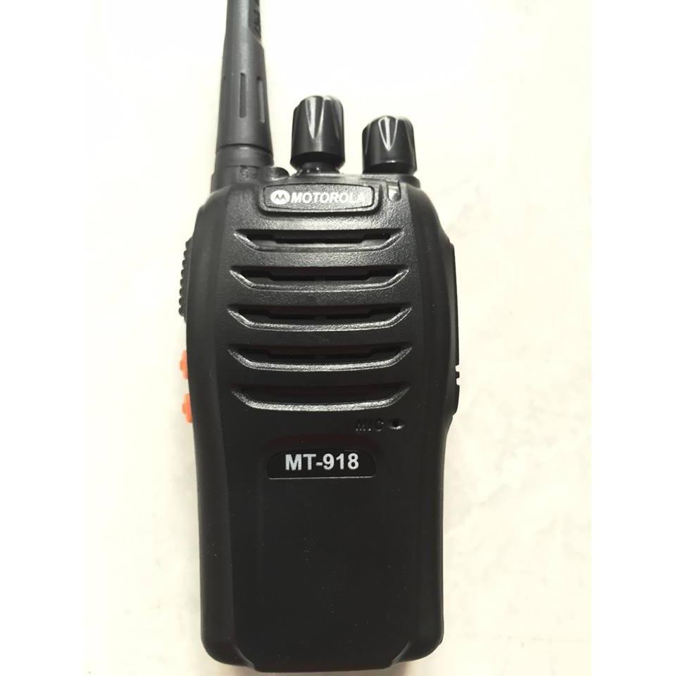 Hình ảnh Bộ 4 Máy bộ đàm Motorola MT-918 (BN3)+Tặng 04 Tai nghe bộ đàm