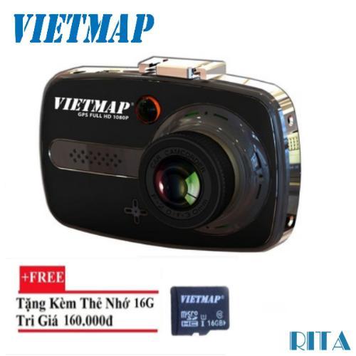 Chiết Khấu Camera Hanh Trinh O To Vietmap X9 Gps Thẻ Nhớ 16Gb Có Thương Hiệu