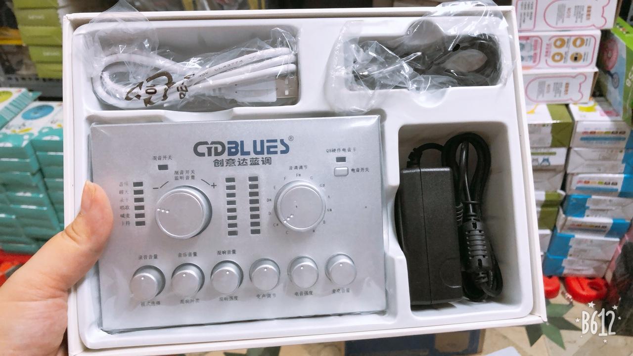 Giá Bán Sound Card Cydblues Q8 R900 Fx Auto Tune Chất Lượng Theo Ý Muốn Rẻ