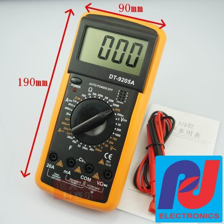 Đồng hồ số đo dòng điện DT-9205A