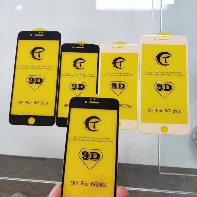 Hình ảnh Kính cường lực 9D cho Iphone 6/6s Trắng