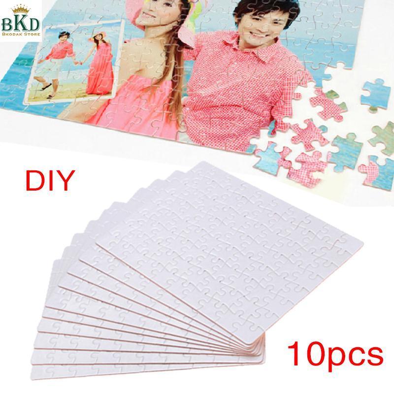 Hình ảnh Bkodak Store Heat Presses Transfer 10pcs A5 DIY Paper Printable Puzzle