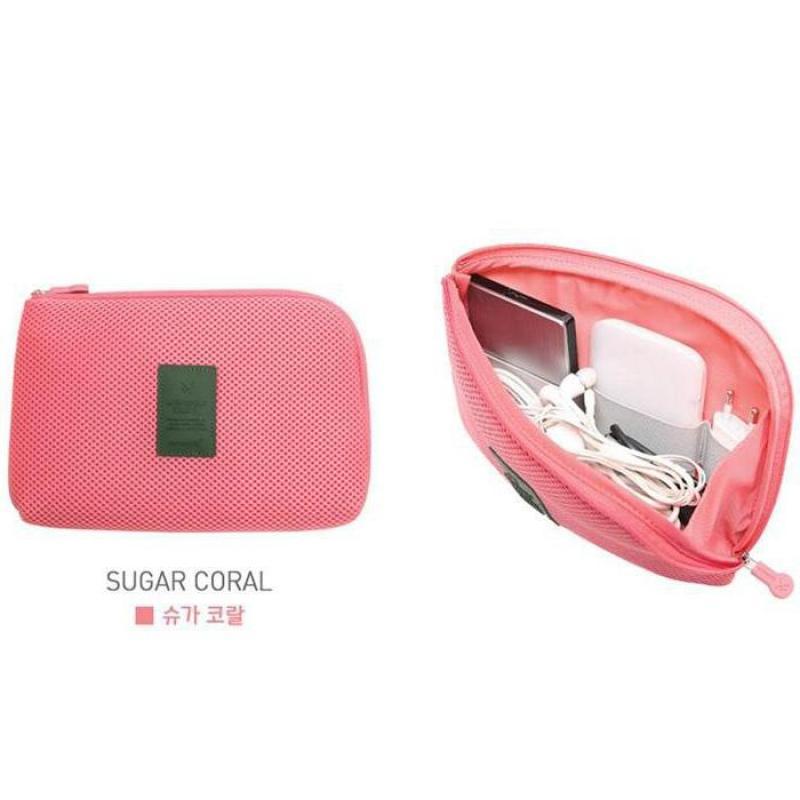 Túi đựng phụ kiện điện thoại SPK220 (Hồng)