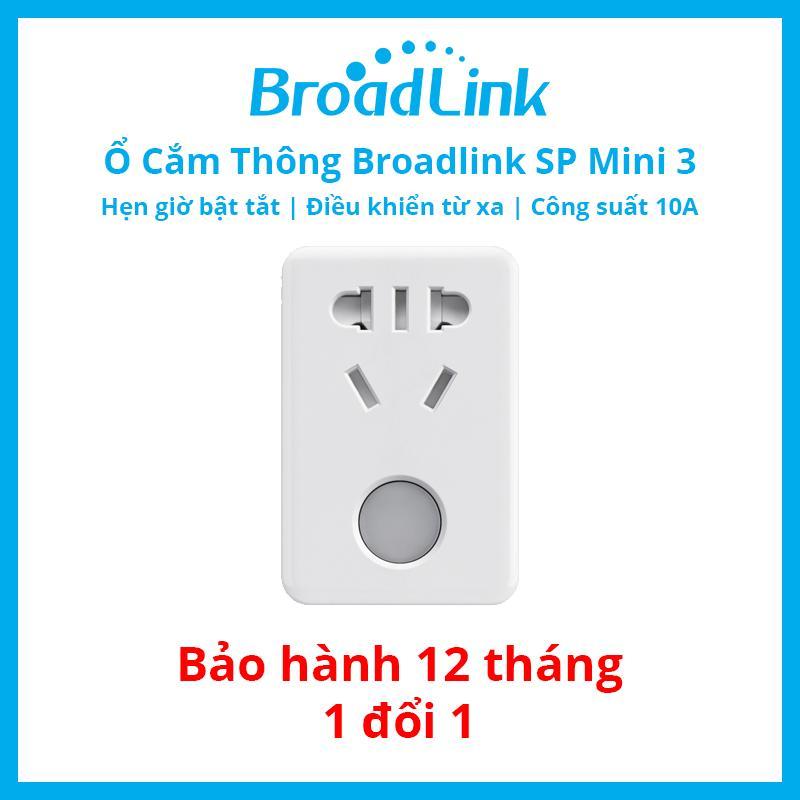 Mã Khuyến Mại Ổ Cắm Thong Minh Wifi Thế Hệ Mới Broadlink Sp Mini 3 Best Choice Mới Nhất