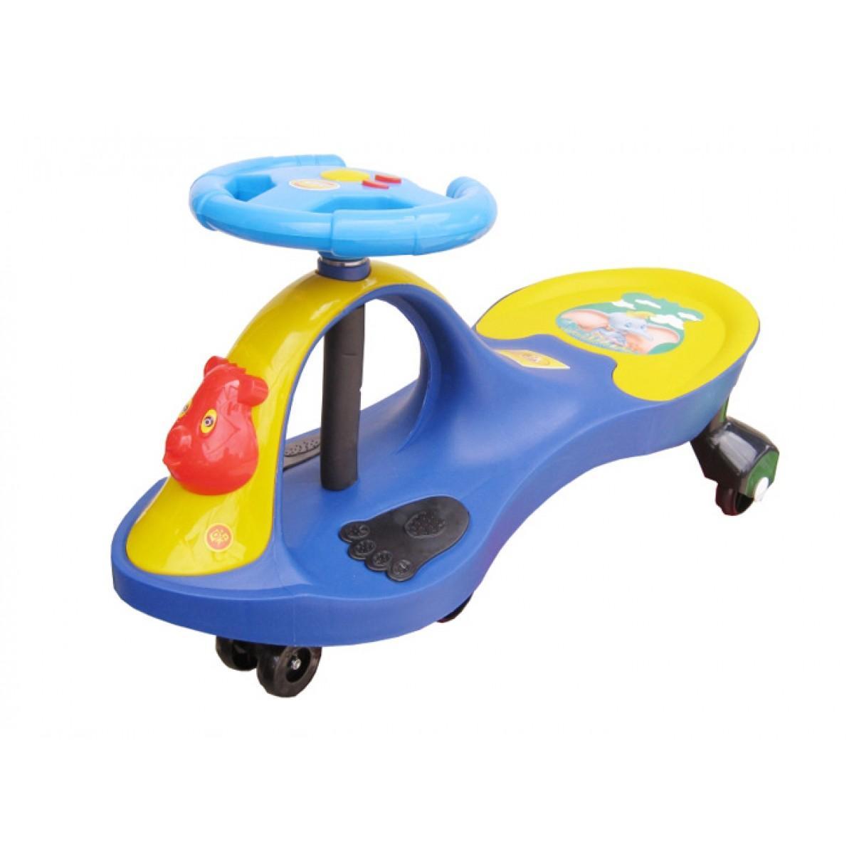 Hình ảnh xe lắc Song Long có nhạc cho bé ( màu xanh, đỏ, vàng)