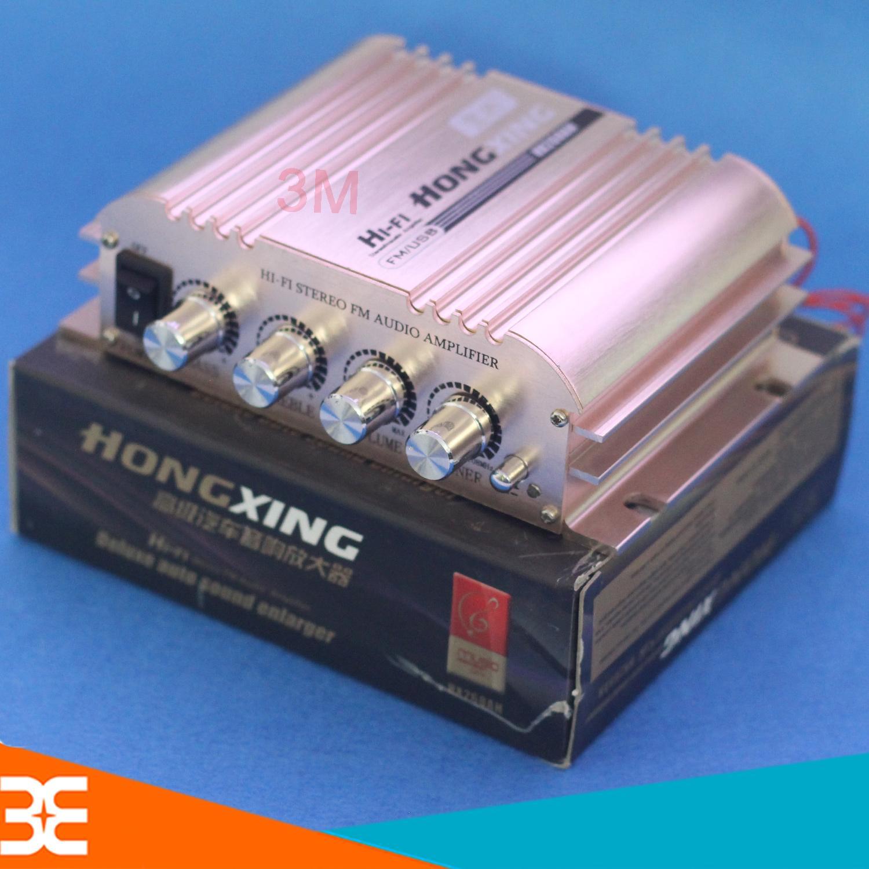Mạch Âm Ly 12V Công Suất Lớn HX268 500W+500W FM/USB