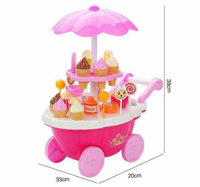 Hình ảnh Bộ đồ chơi xe đẩy kem