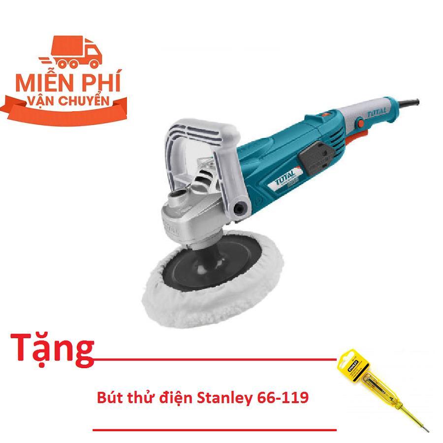 """7"""" (180MM) MÁY ĐÁNH BÓNG GÓC 1400W TOTAL TP1141806-2  (Tặng bút thử điện Stanley 66-119)"""