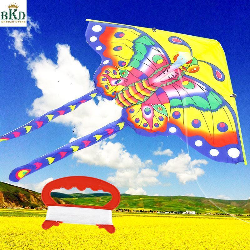 Hình ảnh Bkodak Store Triangle Multicolor Kids Butterfly Kite Butterfly Kite Kite