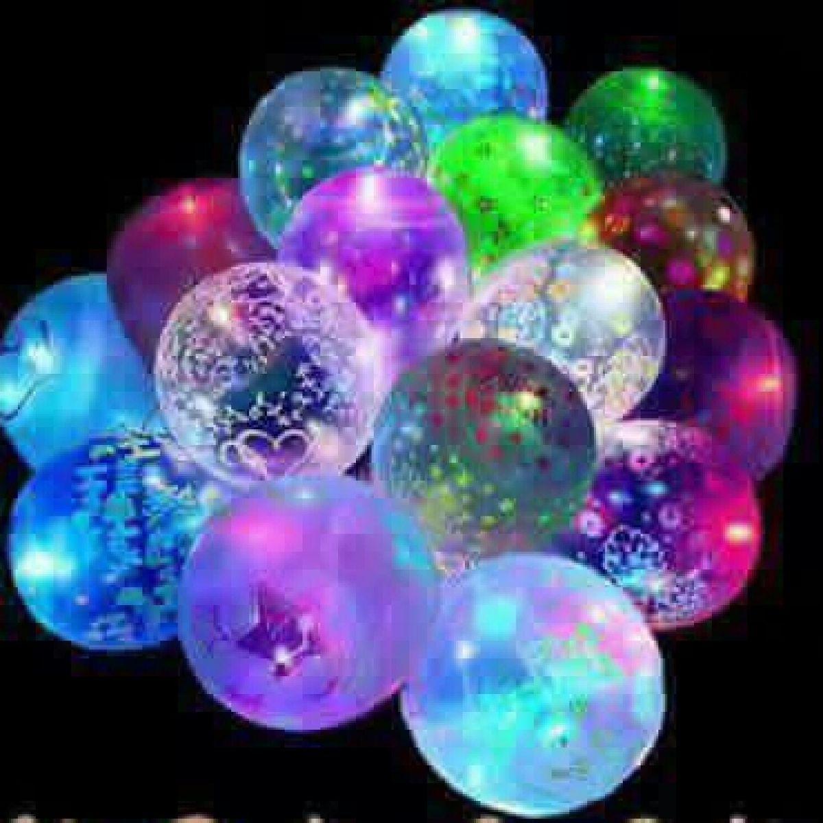 Hình ảnh Bộ 10 quả bóng bay đèn led