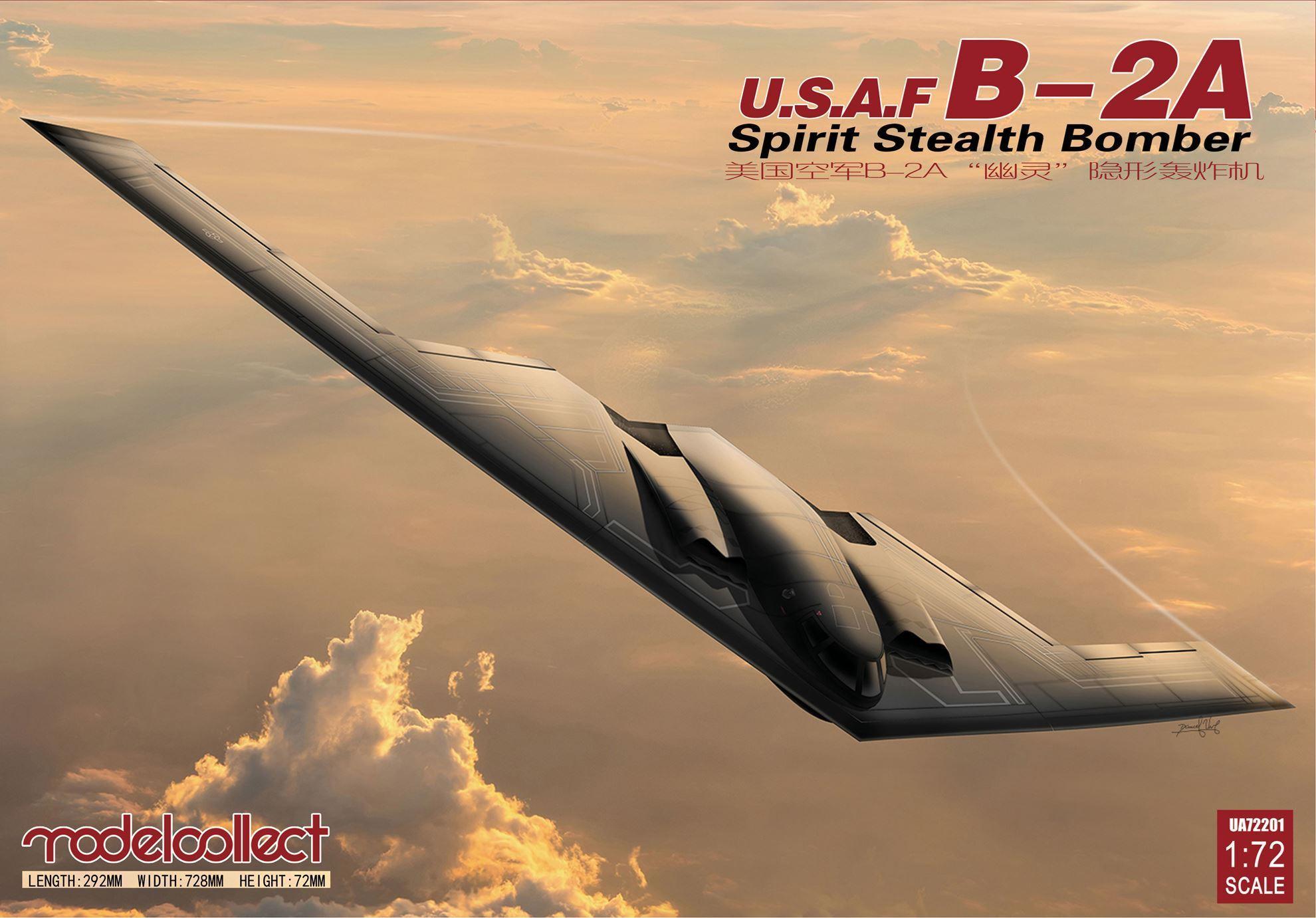 Hình ảnh Mô hình lắp ghép máy bay B-2A Spirit