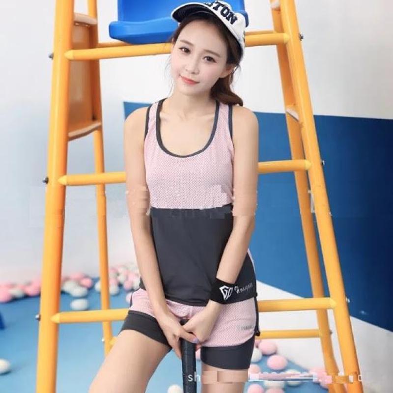 Nơi bán Mô tả sản phẩm Sét bộ thể thao nữ Hvany 3 món tập Gym Yoga chơi thể thao - Pha hồng