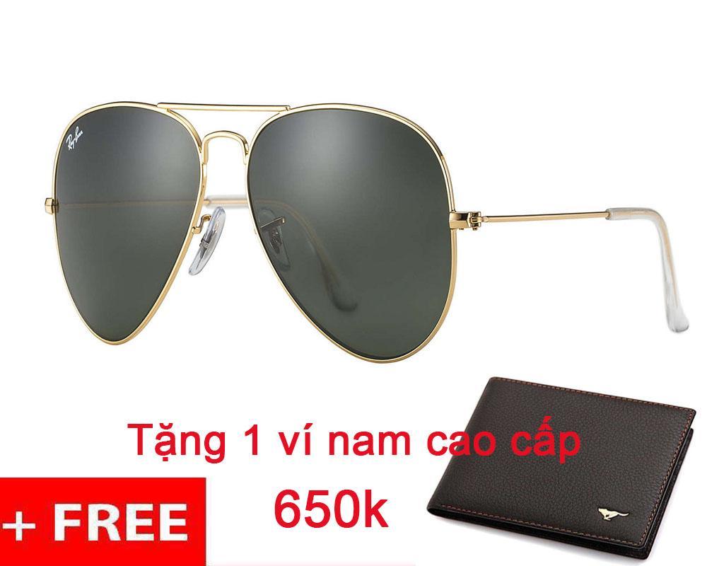 Giá Bán Deal Hot Sinh Nhật Lazada Kinh Mat Nam Rayban Rb3025 L0205 Mau Xanh Gọng Vang Tặng Vi Nam Cao Cấp Trị Gia 650K Trực Tuyến Hồ Chí Minh