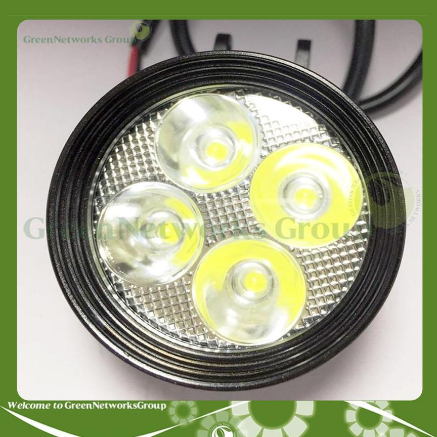 Đèn Led trợ sáng xe máy L4 - CYT  + Tặng công tắc