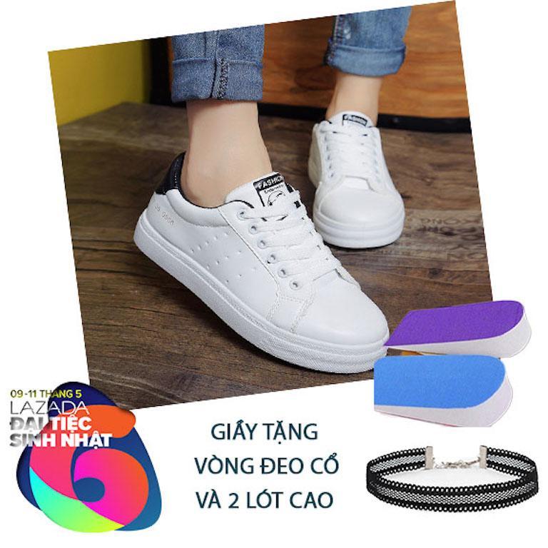 Mã Khuyến Mại Giay Sneaker Nữ Tặng 2Lot Va Vong Đeo Snk129 116 Thời Trang Azado Hà Nội