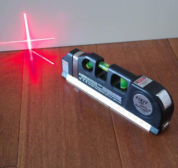 Hình ảnh Thước đo khoảng cách bằng laser/thước đo laser cầm tay giá rẻ (Đen) - thước nivo laser